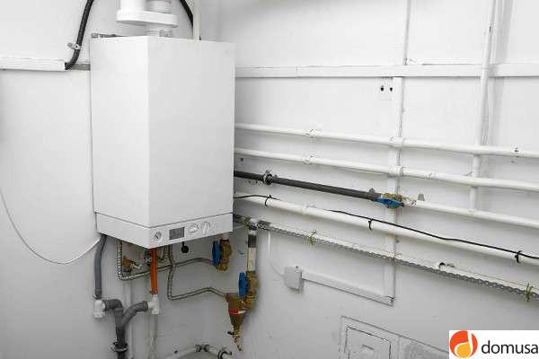 calentador gas domusa